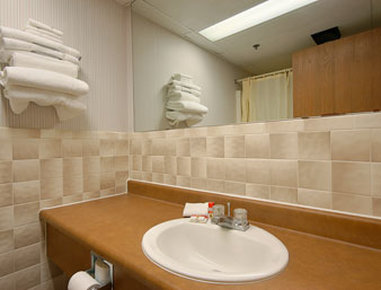 Super 8 Henrietta Rochester Area Hotel - Bathroom