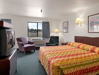 Super 8 Greeley - One King Bed Room with MicroFridge