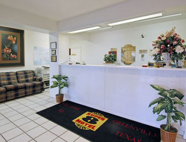 Super 8 Greenville - Lobby