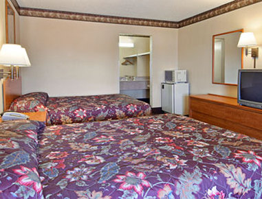 Super 8 Forsyth - Standard Two Double Bed Room
