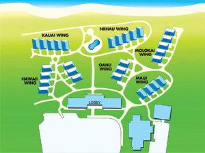 Map - Aston Islander on the Beach Hotel Kapaa