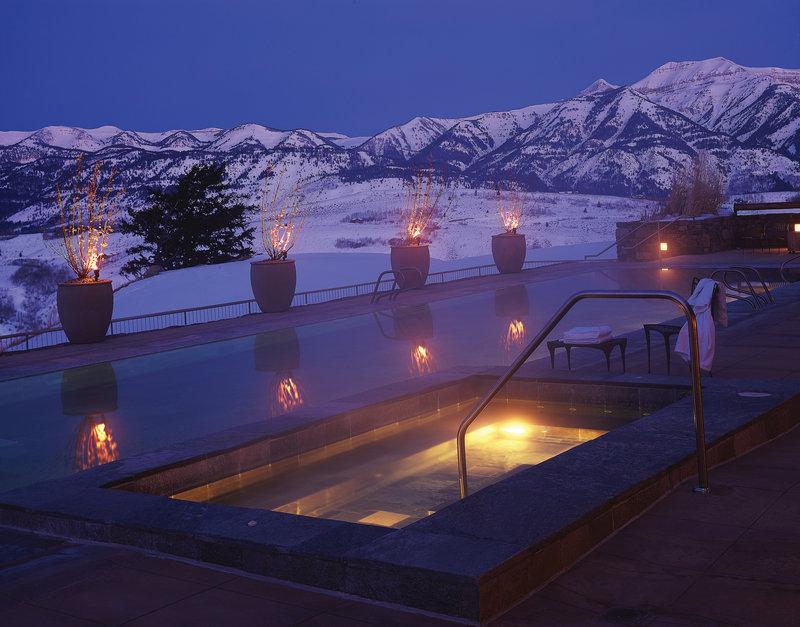 Amangani - Aman Resort Zwembadaanzicht