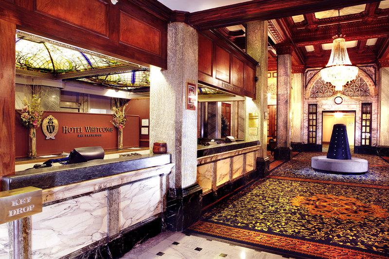 Hotel Whitcomb Lobby