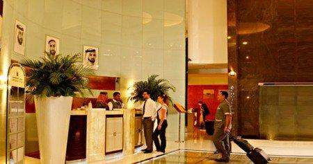 Copthorne Hotel Dubai Lobby