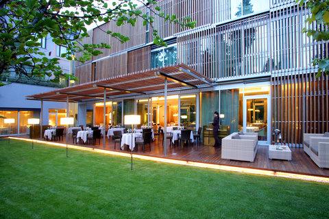 阿布奥西餐厅酒店 - Restaurant Outdoor Terrace