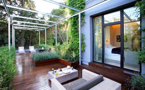 阿布奥西餐厅酒店 - ABaC Suite terrace