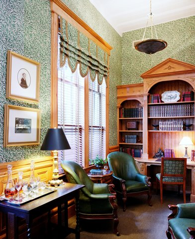 Wentworth Mansion - Library