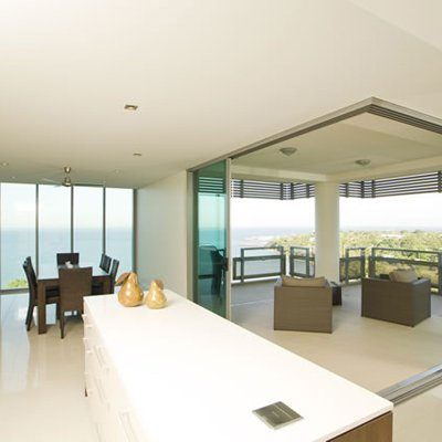 One30 Esplanade - Open Plan Living -dining Area