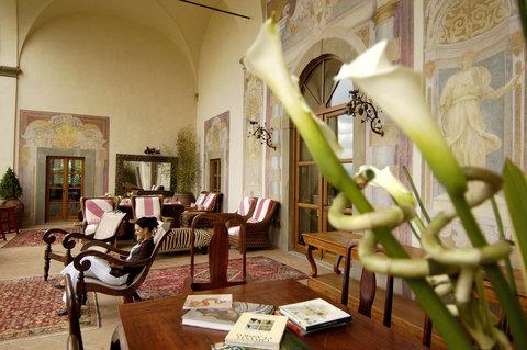 Villa Mangiacane - Loggia by Day