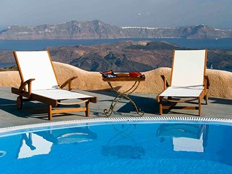 Suites of the Gods - Caldera View Pool