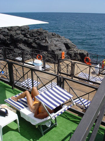 Nettuno Hotel - Terrace With Access To The Sea