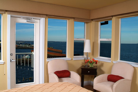Cannery Pier Hotel - Pilot House Bedroom View BFor Web