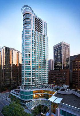 Vancouver Marriott Pinnacle Downtown Kilátás a szabadba