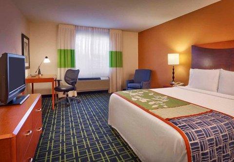 Fairfield Inn & Suites Albuquerque Airport - King Guest Room