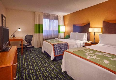 Fairfield Inn & Suites Albuquerque Airport - Double Double Guest Room