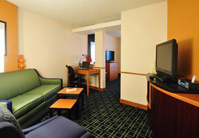 Fairfield Inn By Marriott Denver Westminster - Executive King Suite Living Area