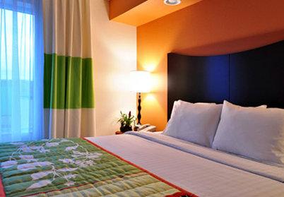 Fairfield Inn By Marriott Denver Westminster - Executive King Suite Sleeping Area