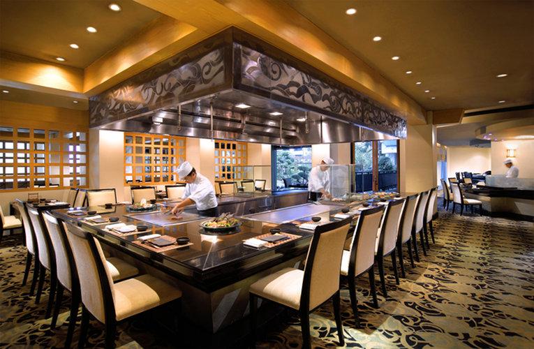 Borobudur Jakarta Hotel Gastronomía