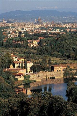 Villa La Massa - Villa La Massa and View of Florence jpg