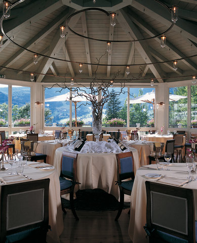 Cristallo Hotel Spa and Golf - The Gazebo Restaurant