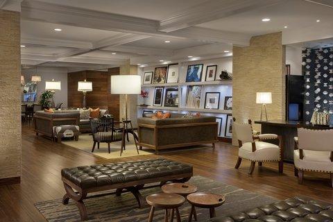 Hutton Hotel - Hutton Hotel Lobby