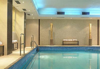 London Marriott Hotel Marble Arch Poolansicht