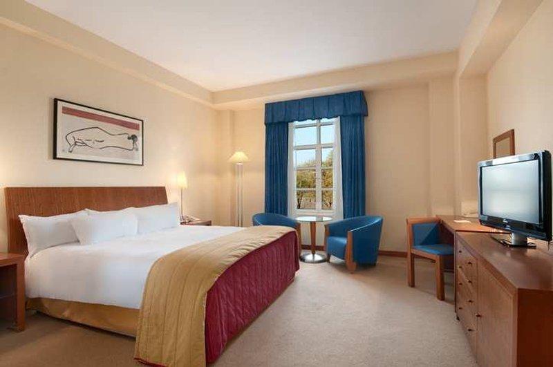 Hilton Cardiff Hotel Vista della camera