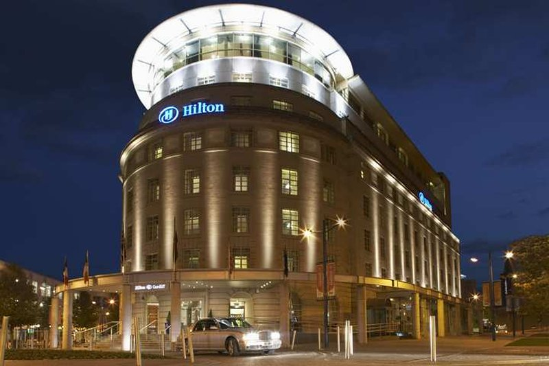 Hilton Cardiff Hotel Vista esterna