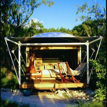Wilson Island Resort - Sunset On Tent