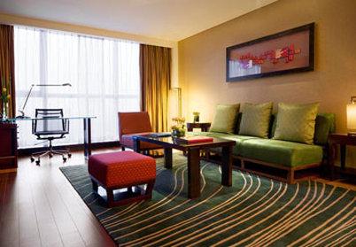 Beijing Marriott Hotel Northeast - Suite Living Room