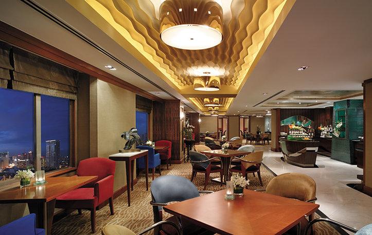 Makati Shangri La Manila Бар/гостиная