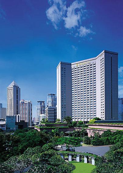 Makati Shangri La Manila Вид снаружи