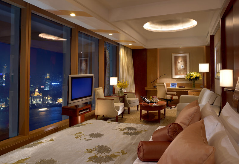 Pudong Shangri La Shanghai View of room
