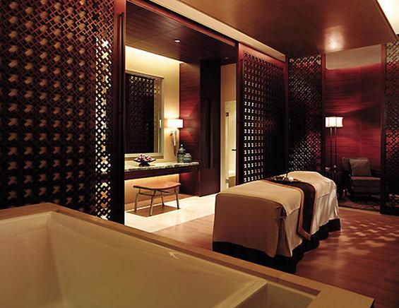 Shangri La Hotel Beijing Wellnessbereich