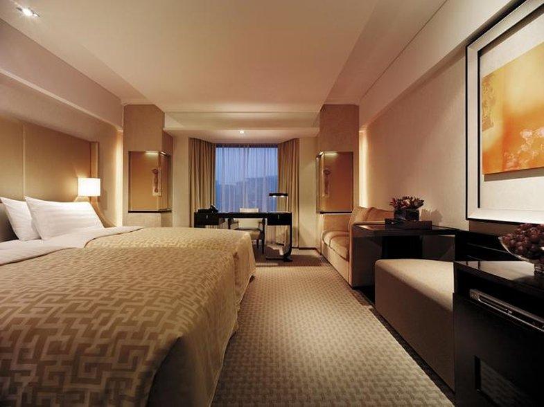 Shangri La Hotel Beijing Zimmeransicht