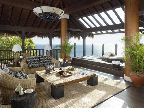 シャングリ ラ ボラカイ リゾート アンド スパ フィリピン - Tree House Villa  Living Room