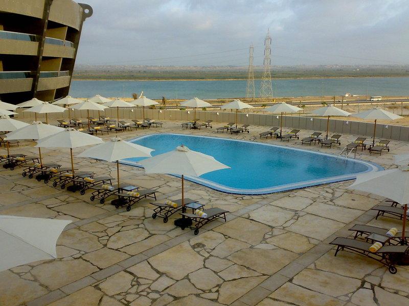 Radisson Blu Hotel Alexandria Havuzun görünümü