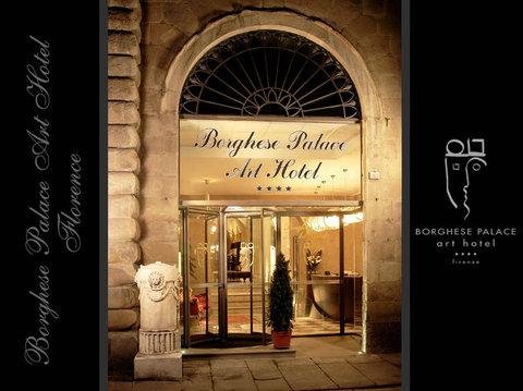 Borghese Palace Art Hotel - Via Ghibellina Entrance