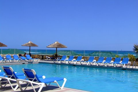 St. James Club All Inclusive Hotel - Reef deck Pool View