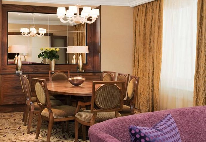 Renaissance Moscow Monarch Centre Hotel Zimmeransicht