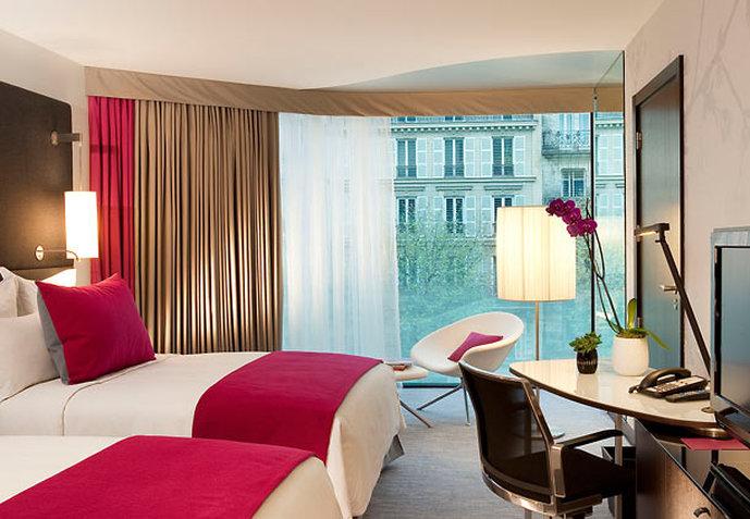 Renaissance Paris Arc de Triomphe Hotel Zimmeransicht