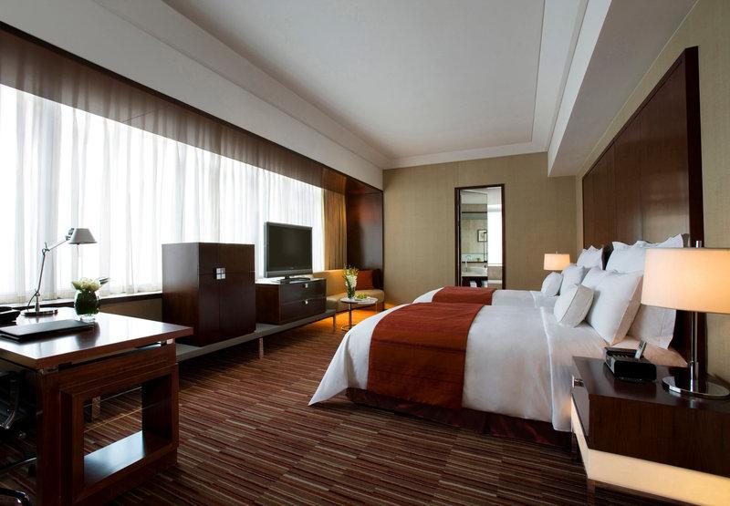 Renaissance Shanghai Zhongshan Park Hotel Zimmeransicht