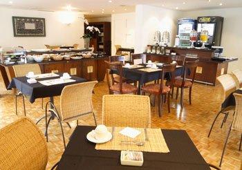 Slaviero Suites Curitiba Gastronomia
