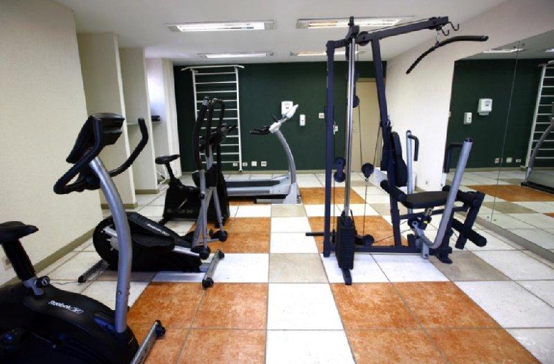 Slaviero Suites Curitiba Clube de fitness