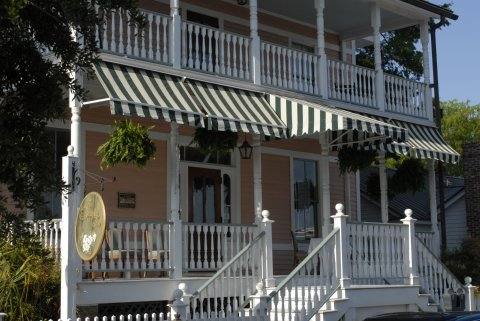 The Beaufort Inn and Spa - Front Porches of Main House