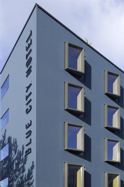 Blue City Hotel AG Baden Außenansicht