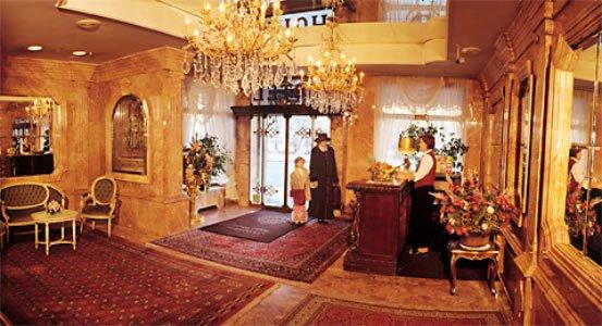 Hotel Palais Porcia Klagenfurt Lobby