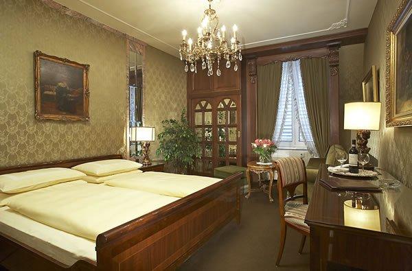 Hotel Palais Porcia Klagenfurt Zimmeransicht