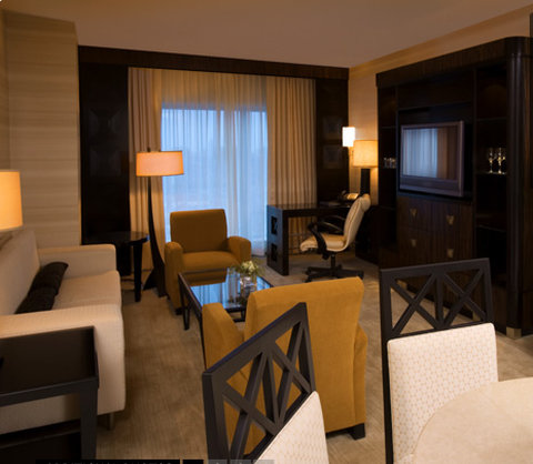 MotorCity Casino Hotel - Deluxe Suite - Living Area