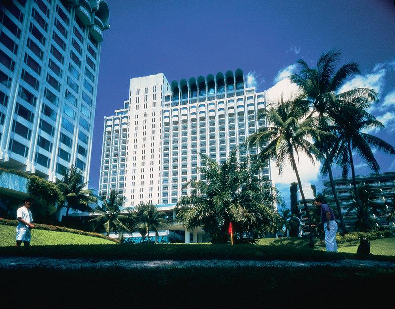 Shangri La Hotel Singapore Вид снаружи